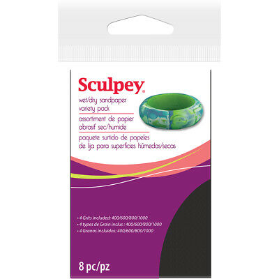 NEW Sculpey Wet & Dry Sandpaper By Spotlight