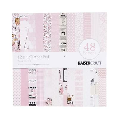 NEW Kaisercraft Kasiercraft Peekaboo Girl Paper Pad By Spotlight
