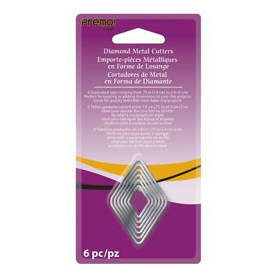 NEW Sculpey Premo Diamond Cutter Set By Spotlight