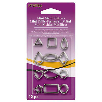 NEW Sculpey Premo Mini Metal Cutters By Spotlight