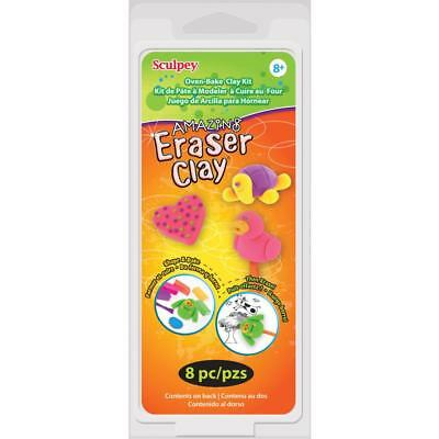 NEW Sculpey Eraser Clay Set By Spotlight