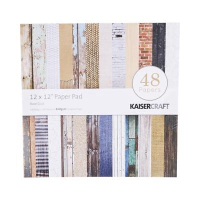 NEW Kaisercraft Basecoat Paper Pad By Spotlight