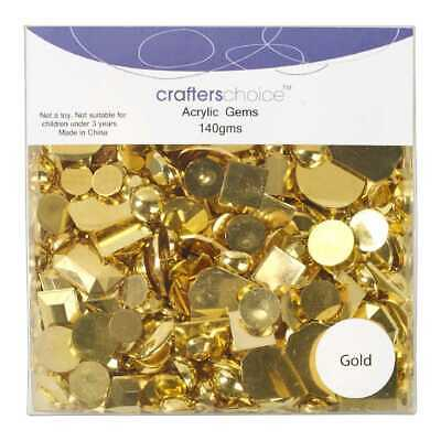 NEW Crafters Choice Acrylic Gems By Spotlight