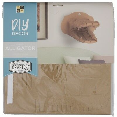 NEW Die Cuts With A View 3D Alligator Flute Kraft Paper Pads By Spotlight