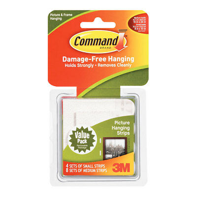 NEW 3M Command Picture Strips Combo By Spotlight