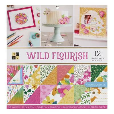 NEW Die Cuts With A View Wild Flourish Paper Pad By Spotlight