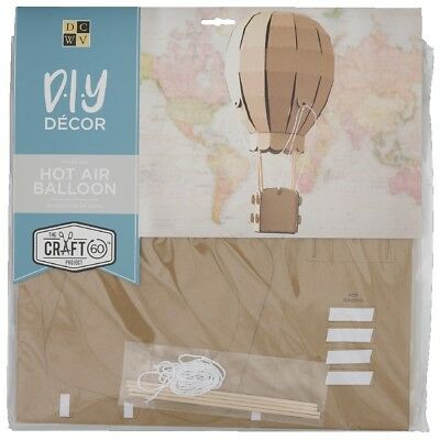 NEW Die Cuts With A View 3D Hot Air Balloon Flute Kraft Paper Pads By Spotlight