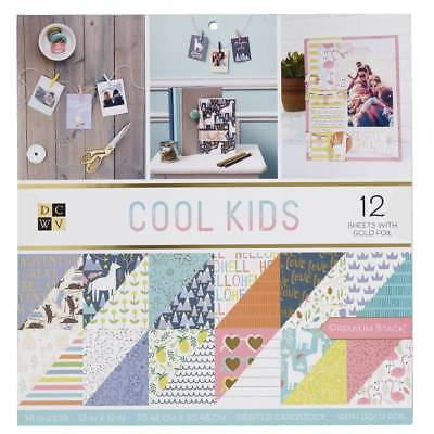 NEW Die Cuts With A View Cool Kids Paper Pad By Spotlight