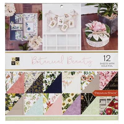 NEW Die Cuts With A View Botanical Beauty Paper Pad By Spotlight