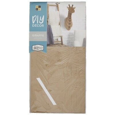 NEW Die Cuts With A View 3D Giraffe Flute Kraft Paper Pads By Spotlight