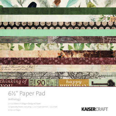 NEW Kaisercraft Kaiser Anthology Paper Pad By Spotlight