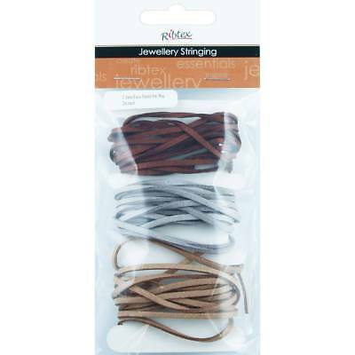 NEW Faux Leather Cord 3 mm 6 Metres By Spotlight
