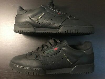 4b7c82f73 ADIDAS YEEZY POWERPHASE Calabasas Core Black CG6420 Size 9 100% DS ...