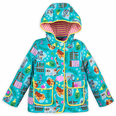 Disney Store Lady & the Tramp Lightweight Jacket for Girls Furrytale Friends NEW