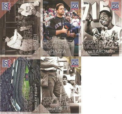 2019 Topps Series 1 150 Years Of Professional Baseball Inserts ***you Pick***