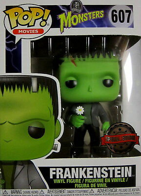 Film-fanartikel Filme & Dvds Universal Monsters Frankenstein Flower Pop Figur 9 Cm Funko