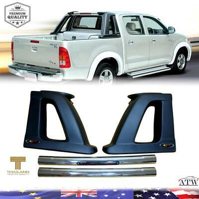 TOYOTA HILUX CARRYBOY CB-510 Chrome Roll Bar with side