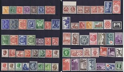Australian Pre-Decimal MINT Stamps 100 All Different, All MNH, All Good Quality
