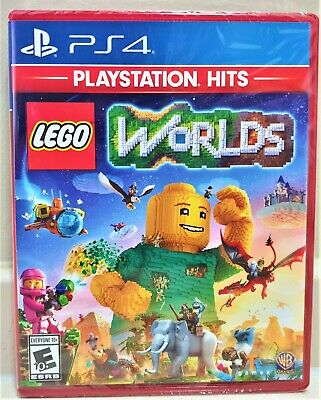 LEGO Worlds - Playstation 4 (PS4) Brand  New   Sealed