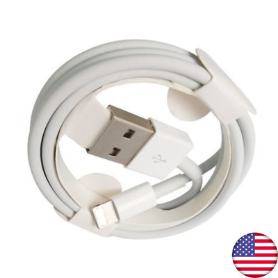 Lightning USB Cable Charger For Original OEM Apple iPhone 6/7/8/X/XS/XR 3FT/1M