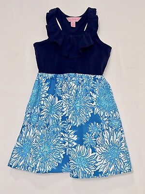224480a59411 NWOT Lilly Pulitzer Lion in the Sun Ariel Blue Loranne Dress