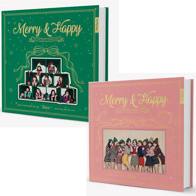 TWICE [MERRY&HAPPY] Repackage Album CD+Photo Book+4p Card+Sticker+GIFT SEALED