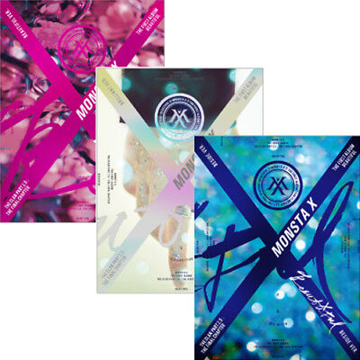 MONSTA X [BEAUTIFUL] 1st Album CD+POSTER+30p Photo+Lyrics+Paper+2p Card+etc+GIFT