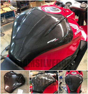 Honda Cbr650 R Cb650 R Carbon Oil Fuel Tank Cover Protection Pad Fits Fairings