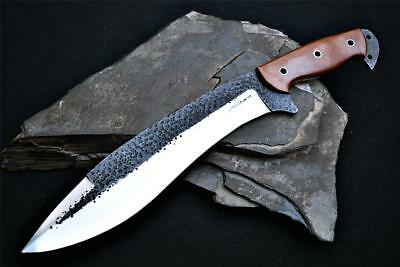 Custom Handmade Bowie Knife Combat Tactical Spec OPS 1095 Hammered Hunting