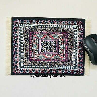 mouse mat desktop laptop mouse pad Persian rug non slip UK seller #D8