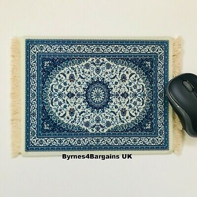 mouse mat desktop laptop mouse pad Persian rug non slip UK seller #D11