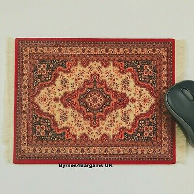 mouse mat desktop laptop mouse pad Persian rug non slip UK seller #D12