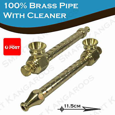 14cm Brass Smoking Pipe metal pipe bong pipe water pipe cone pieces Jet lighter