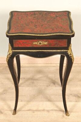 Table Worker Marquetry Boulle Napoleon III