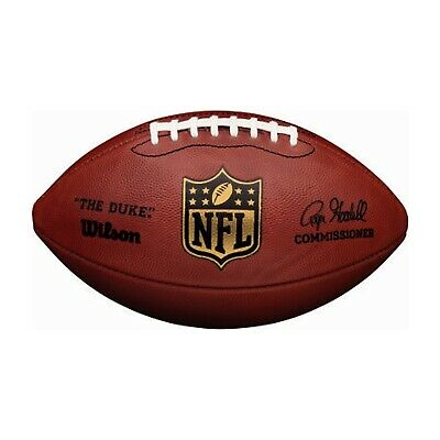 """""""Wilson """"The Duke"""" Leather NFL Official Game Football Handcrafted in Ada"""""""