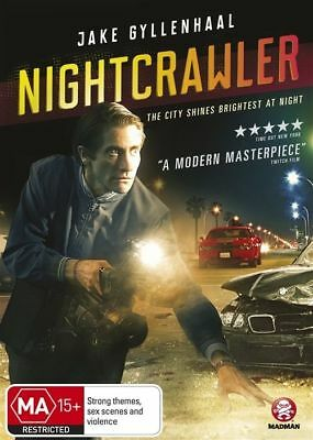 Nightcrawler (DVD, 2015) Jake Gyllenhall