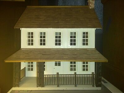 Vintage Handmade Dollhouse For Miniatures Beautiful 1 12 Scale