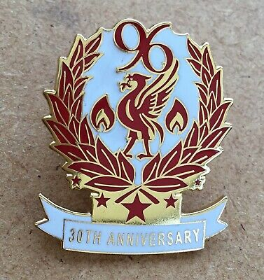 30 Year Anniversary Of The Hillsborough Disaster Liverpool Enamel Pin Badge