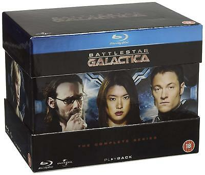 Battlestar Galactica: The Complete Series Blu-ray NEW SEALED UK release