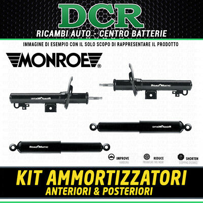 Kit 4 Ammortizzatori Ant. e Post. MONROE FIAT PANDA (169_) 1.2 / 1.3 D MULTIJET