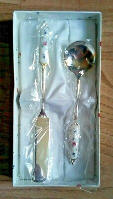 Christening Matching Cutlery Spoon And Knife Set