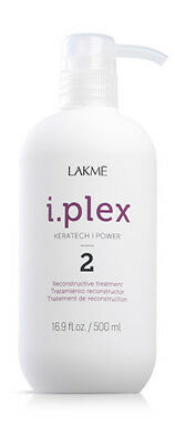 LAKME I.PLEX Keratech I.Power PASO 2 Tratamiento Reconstructor 500 ml