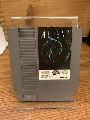Nes Alien 3 Video Game Cartridge Only Nintendo Entertainment System