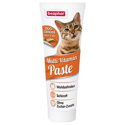 New - Cat Kitten - Beaphar Multi Vitamin With Taurine Paste - 250G Large