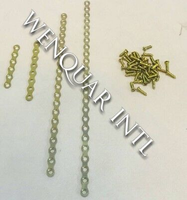 Maxillofacial Mini Stright plate Titanium With Screw 40pcs 6,8,20,24hole 1.5mm