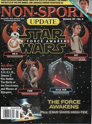 NON SPORT UPDATE Vol. 26 #5 STAR WARS THE FORCE AWAKENS -THE HOBBIT-(NO CARDS)