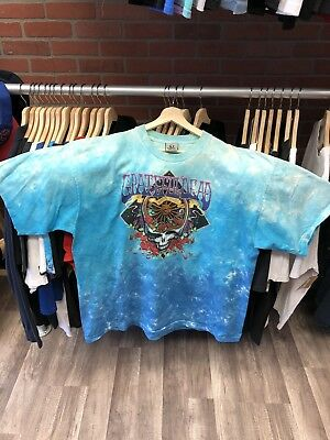 a0ce27c0 Vintage 2005 GRATEFUL DEAD All Over Double Sided Music Band Tee T-Shirt 2XL