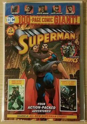DC COMICS SUPERMAN 7 • WALMART EXCLUSIVE • 100 Page GIANT • NM