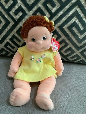 43b9218969e Ty Beanie Kids Curly Ginger Doll Soft Girl Red Hair Retired New W Tags Nwt  Mint