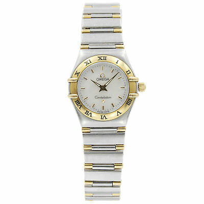 3b4f6b977a2cd Omega Constellation Steel 18K Yellow Gold MOP Dial Quartz Ladies Watch  1362.30